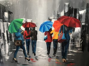 Jour de pluie - Safia bollini