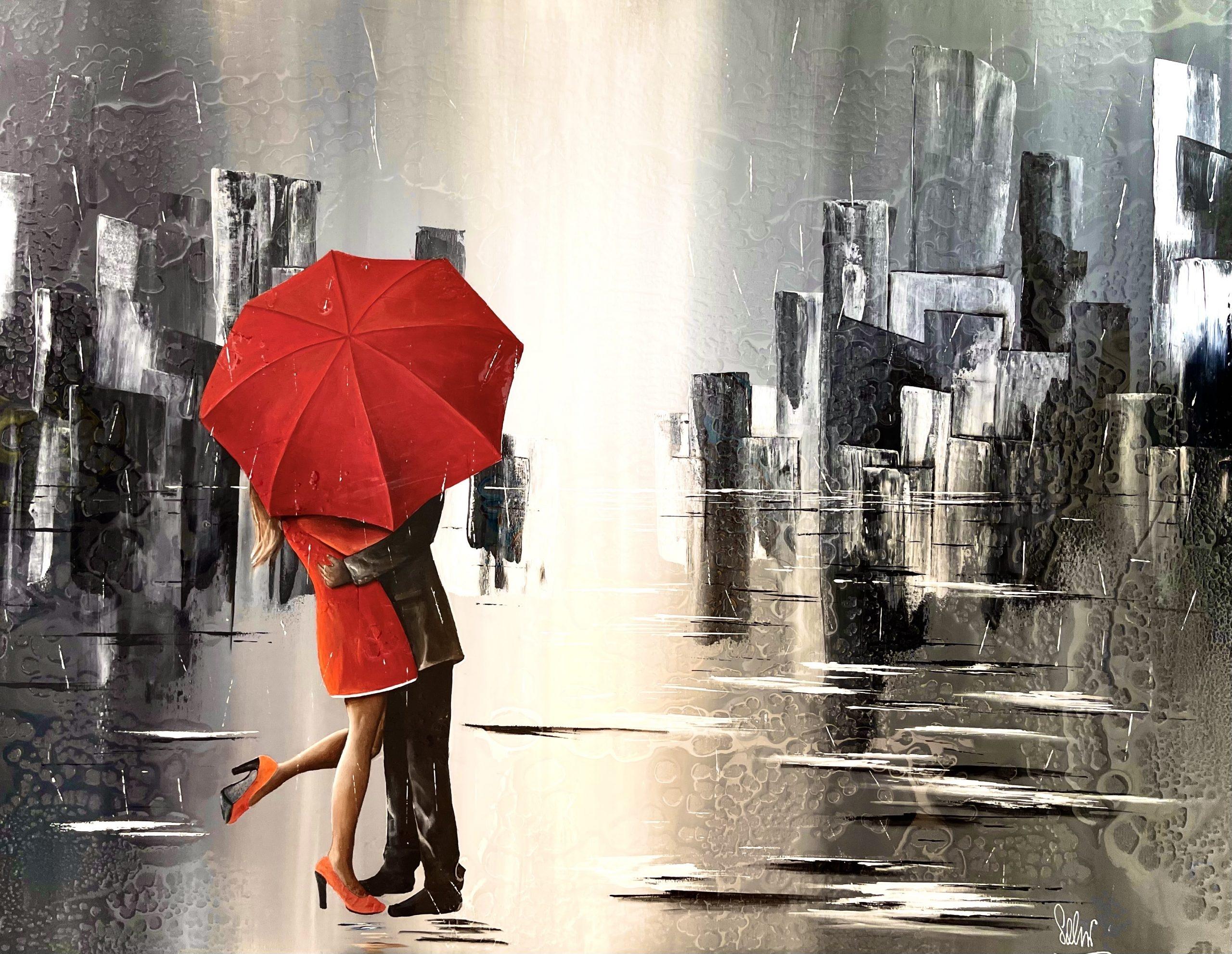 Romance sous la pluie