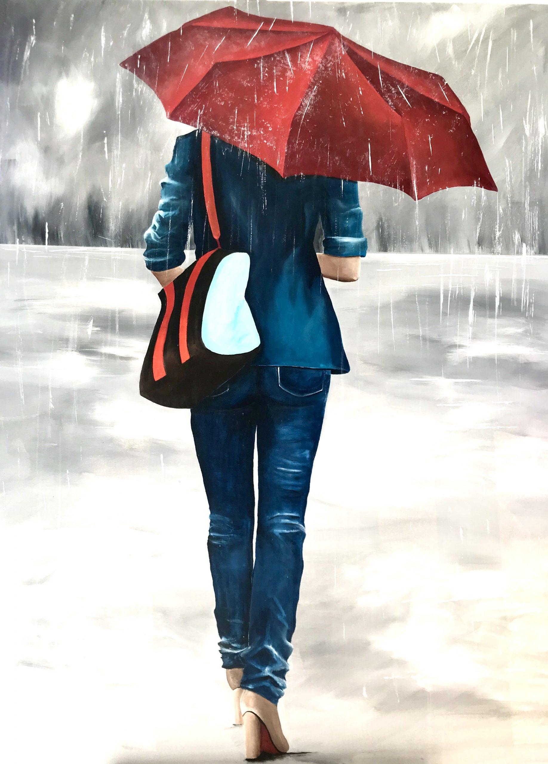 Sous la pluie - Safia bollini